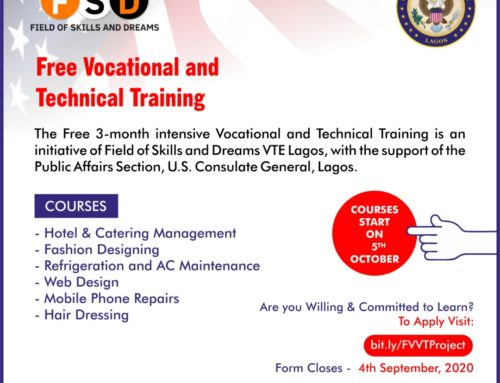 Free 3 Months Vocational and Technical Training